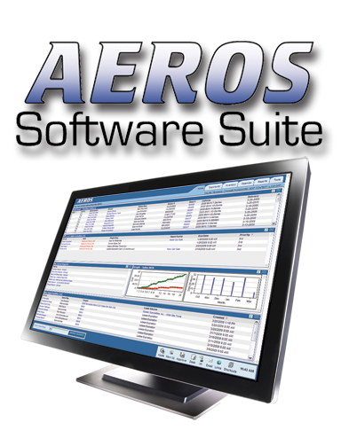 image of a computer monitor with a screenshot of the AEROS CRM software from AutoUpLinkUSA Mid-Atlantic