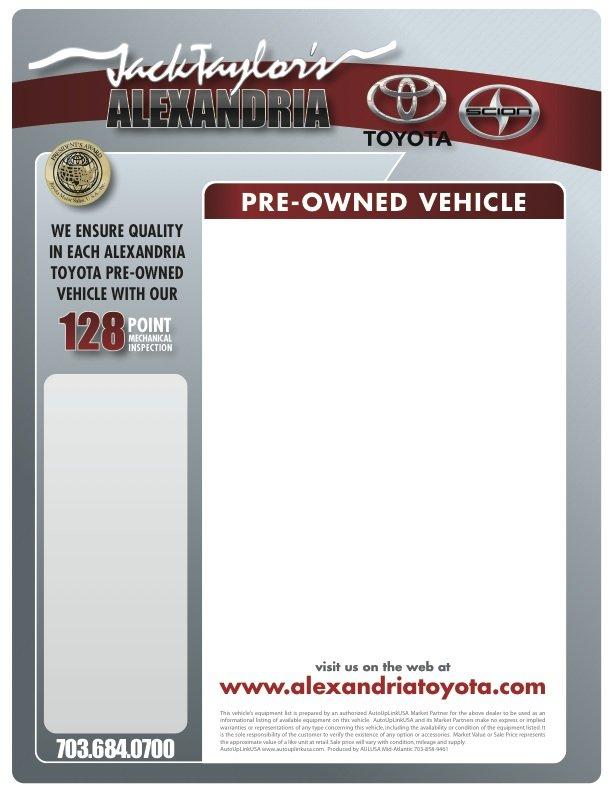 sample custom window sticker by AutoUpLinkUSA Mid-Atlantic