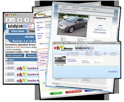 AutoUpLinkUSA eBay Motors listing tool